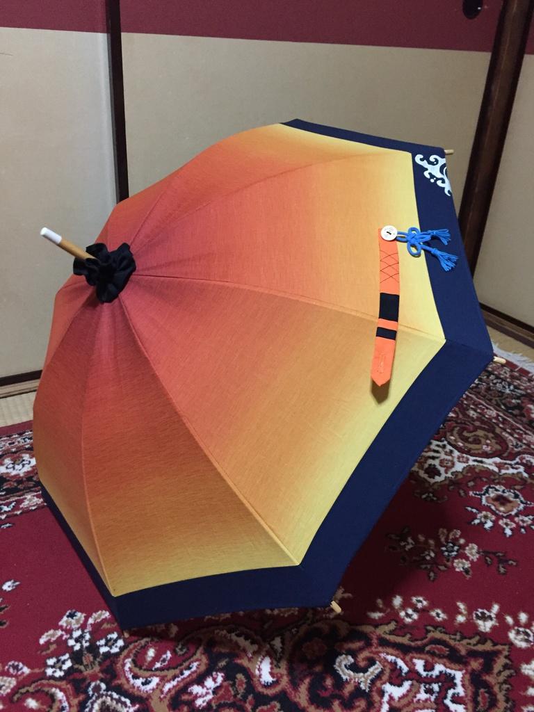 陸奥守吉行イメージ日傘