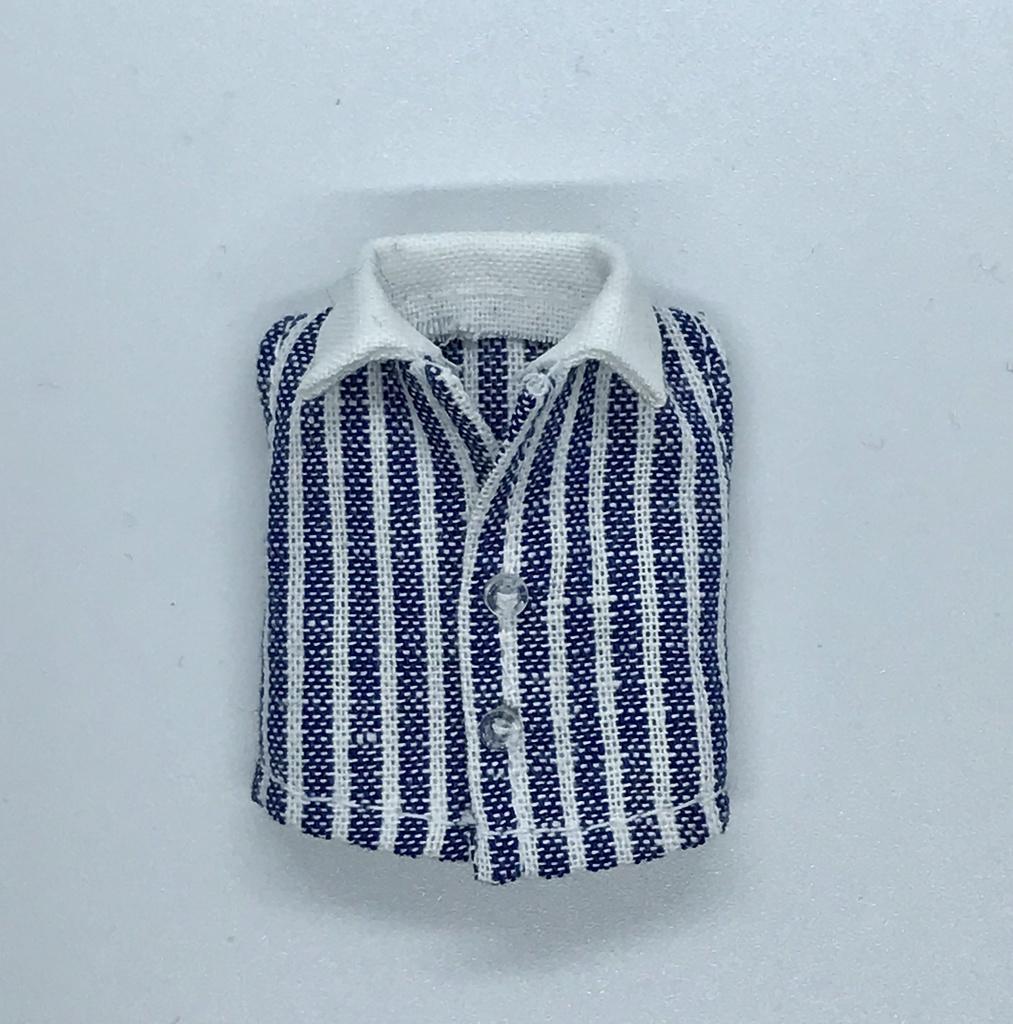 オビツ11サイズ お洋服  単品 ノースリーブシャツ ストライプ
