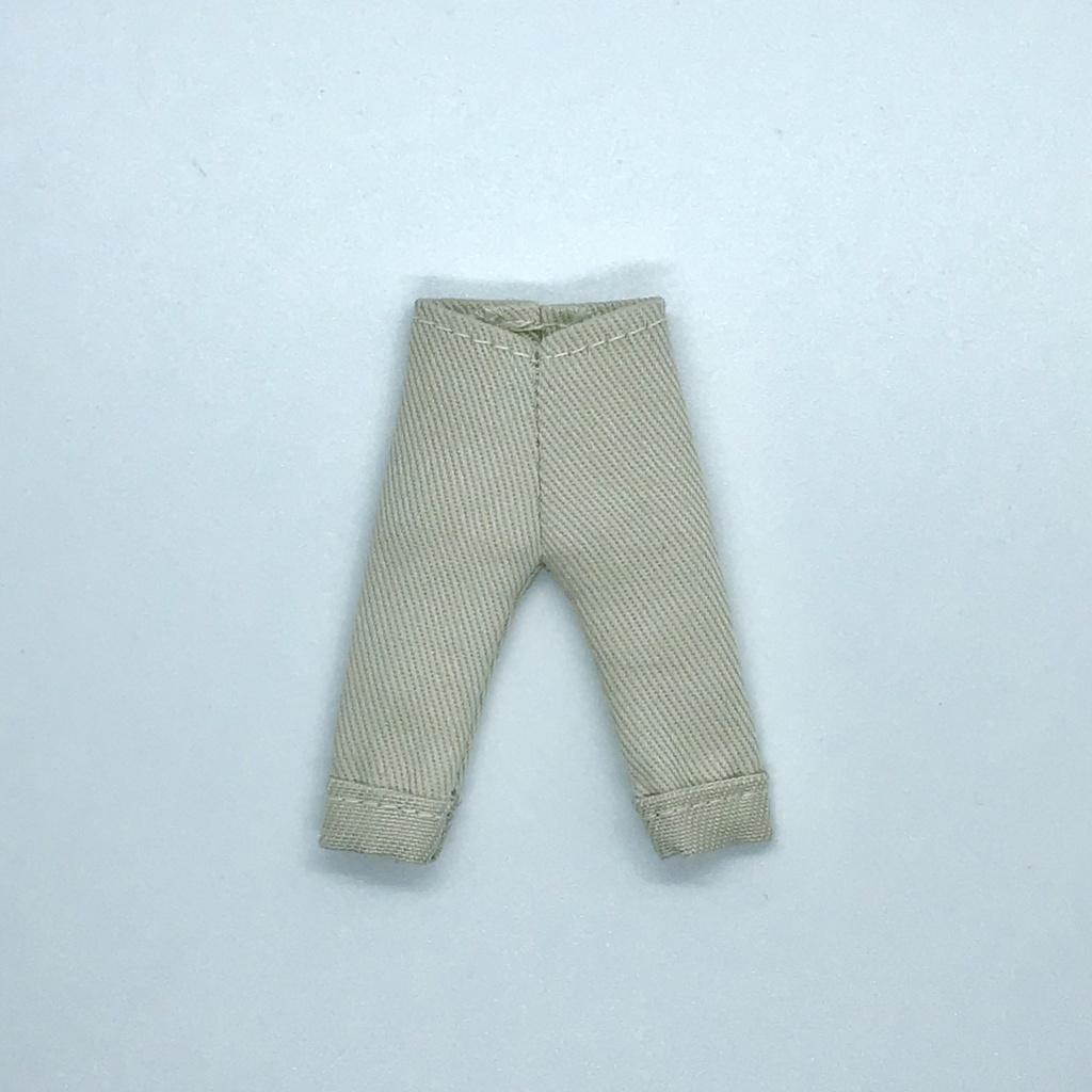 オビツ11サイズ お洋服  単品パンツ  チノサンドベージュ  ロールアップタイプ