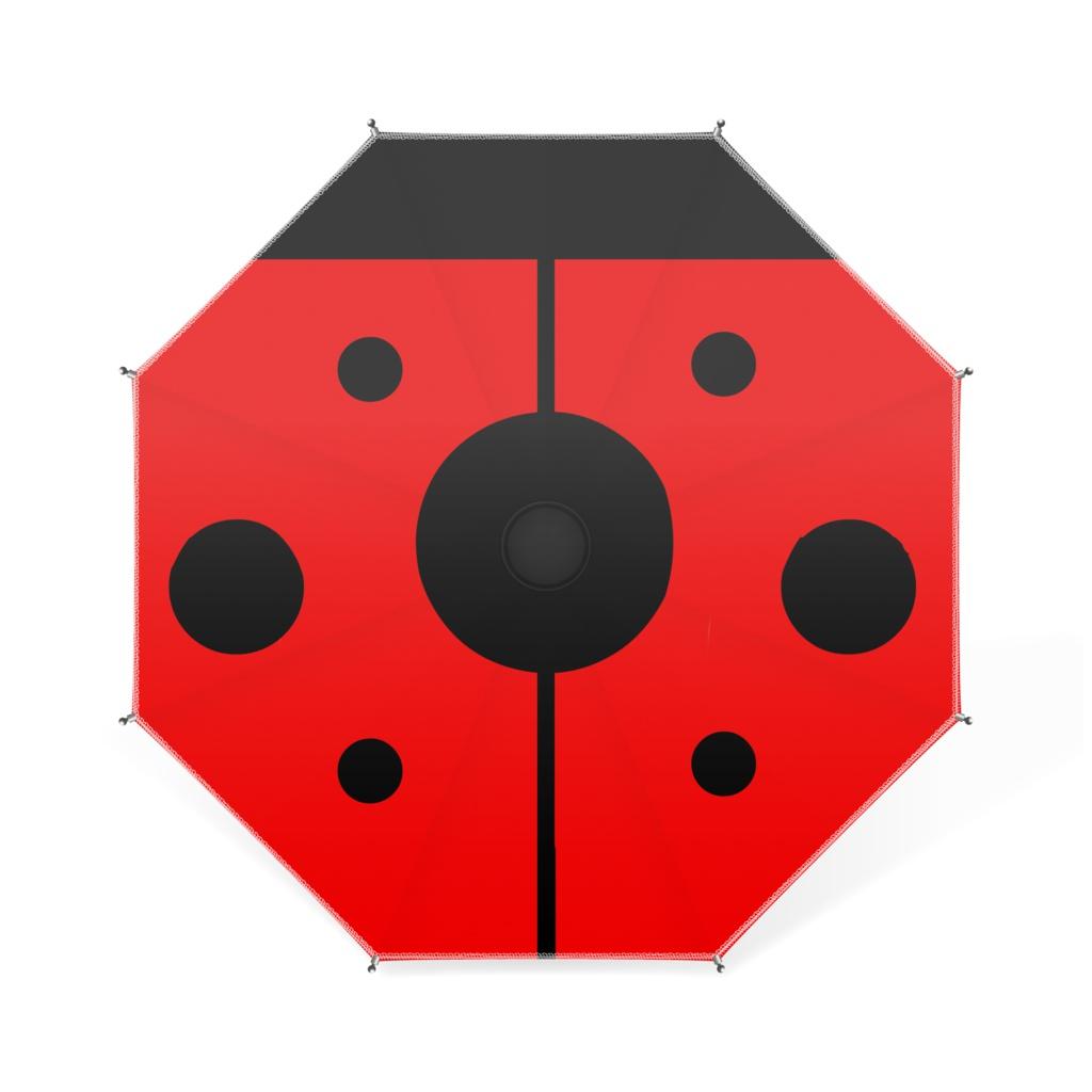 プチプチてんとう虫のミニ傘