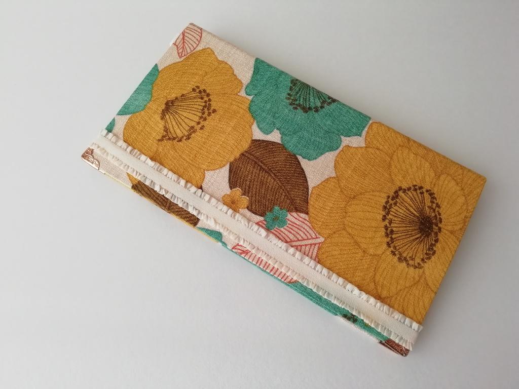 大柄お花のオリジナルチケットケース