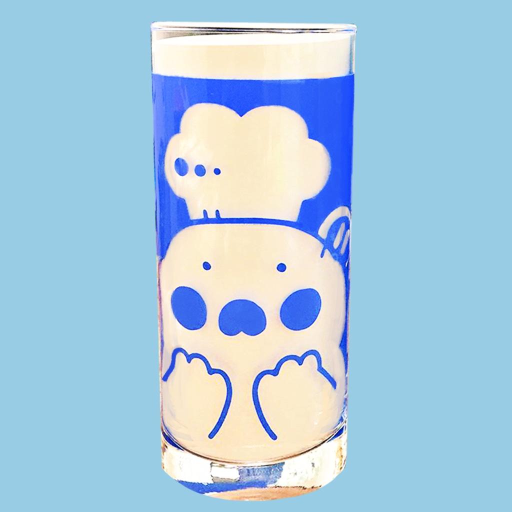 グラスタンブラー(青)