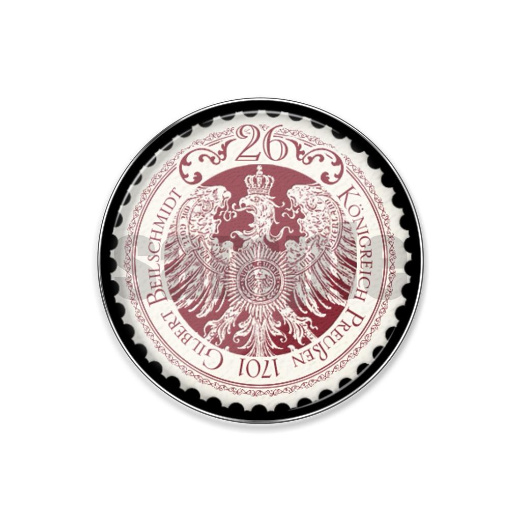 普国ピンバッジ(切手)