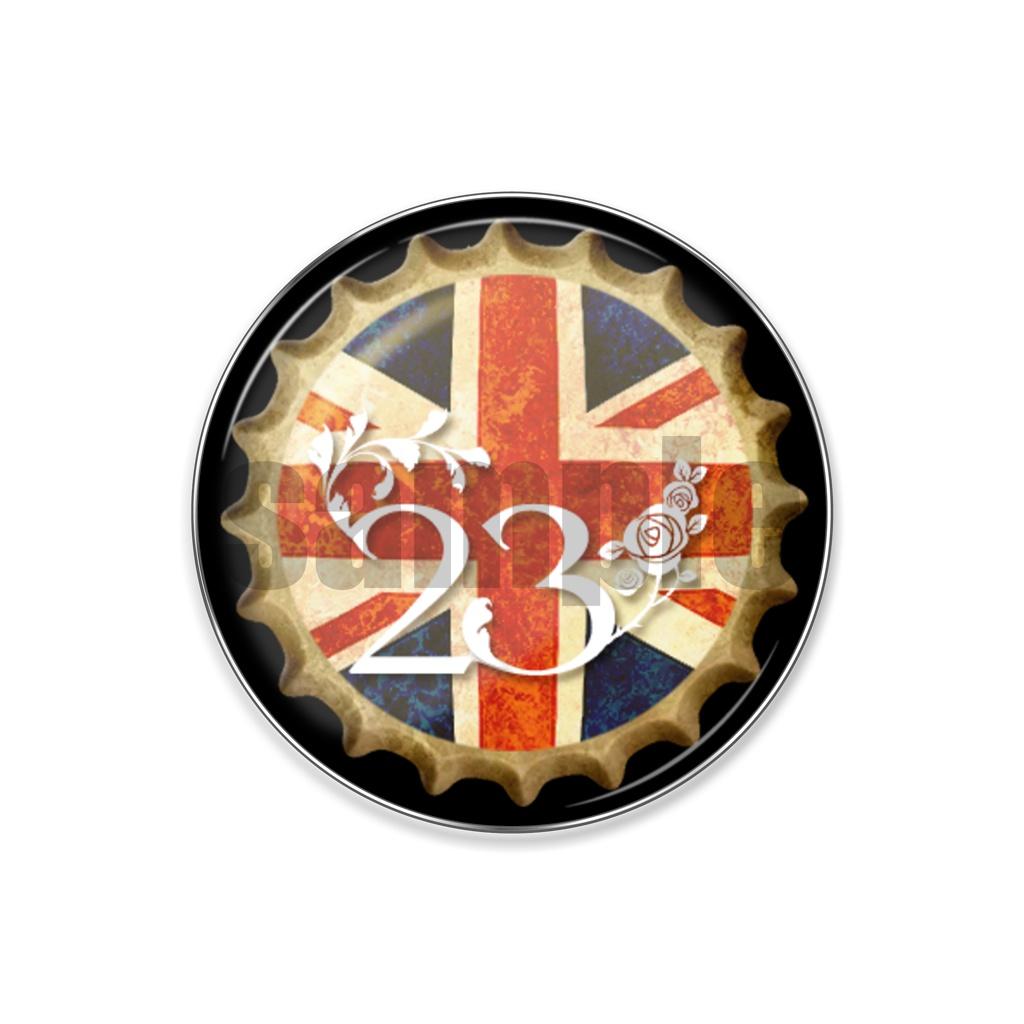 英国ピンバッジ(王冠)