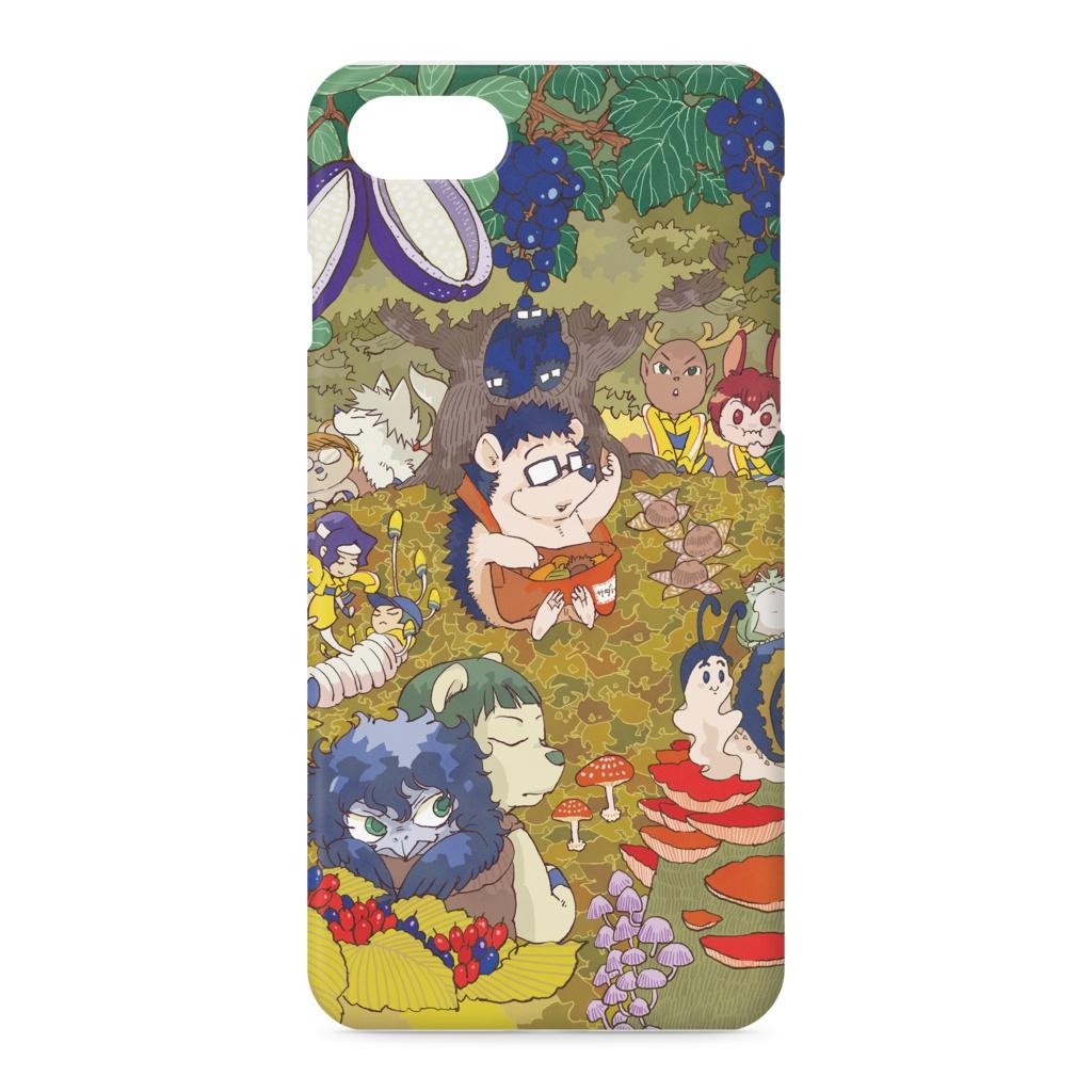 サダハリー iPhone7ケース(秋の森ver)