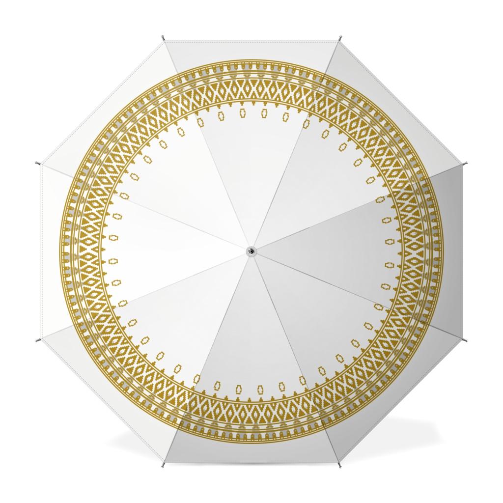 【風ノ旅ビト】白ビト柄 傘