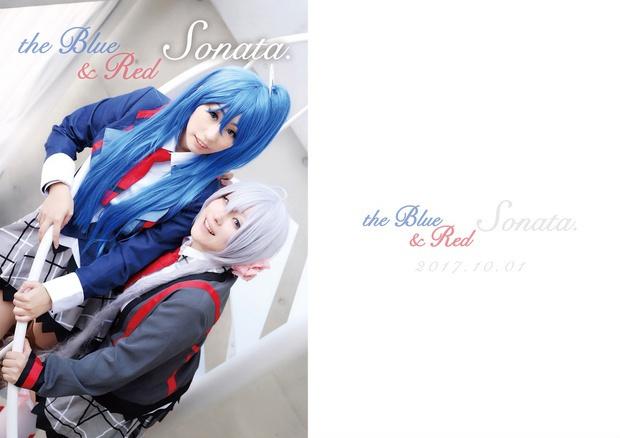 翼&クリス写真集『the Blue & Red Sonata』