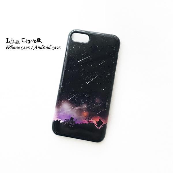流星BLACK iPhoneケース スマホケース