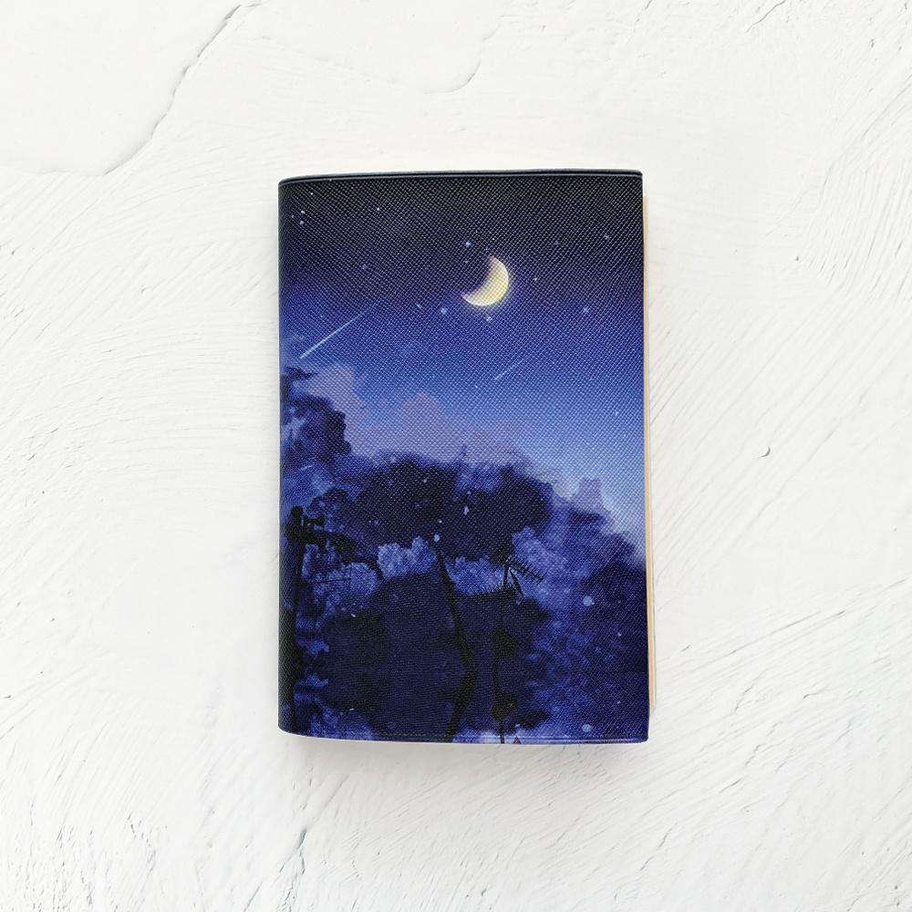 真夜中の月 ブックカバー