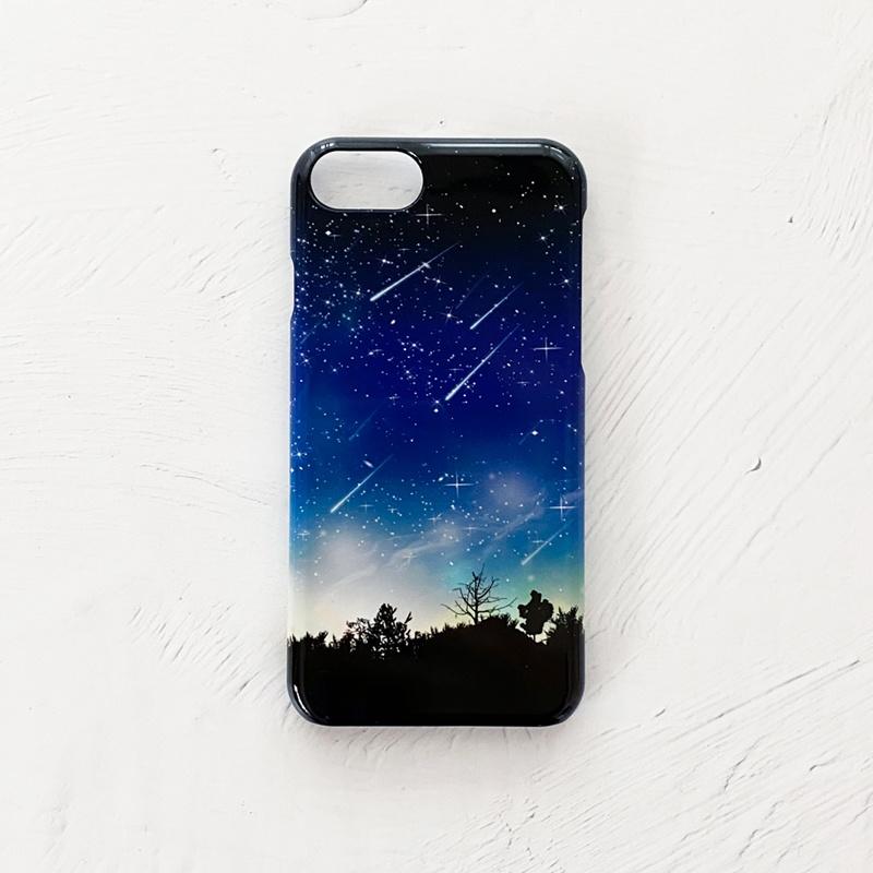 流星 iPhoneケース スマホケース