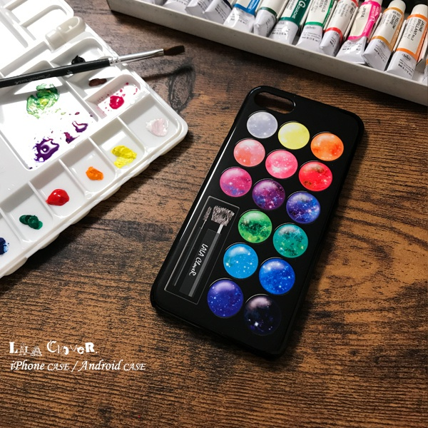 GALAXY Palette iPhoneケース スマホケース