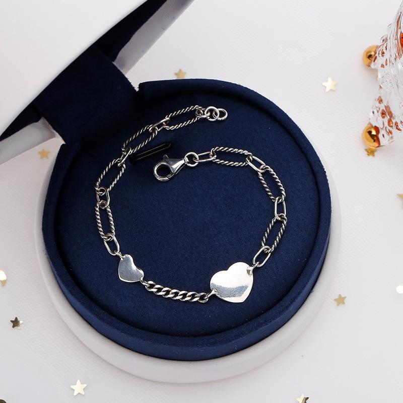 シンプルな愛のブレスレット〈 silver925〉