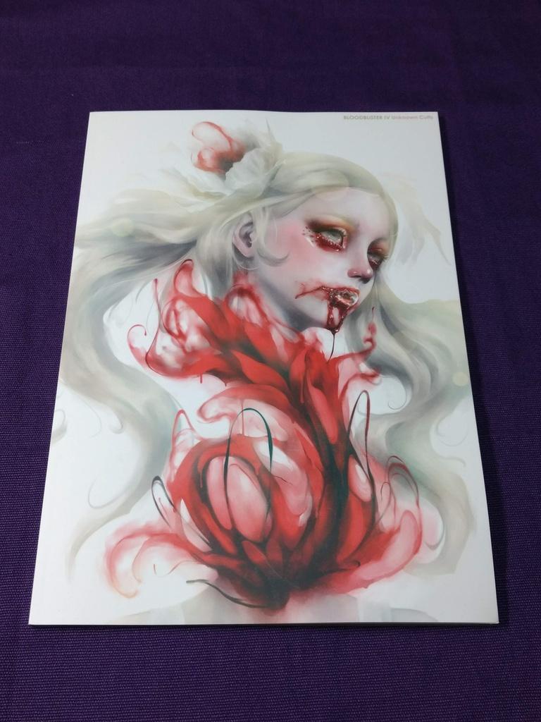 """画集 """"BLOODBLISTER IV -Unknown Cults-"""""""