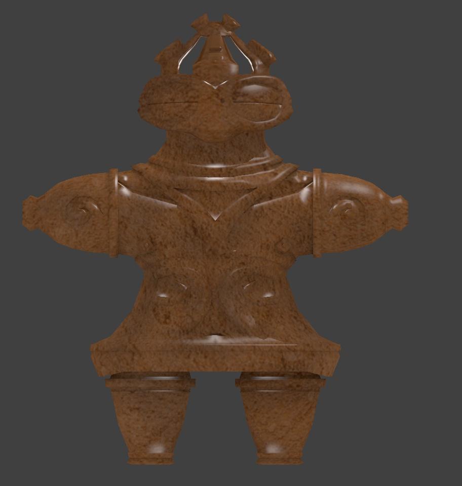 3Dモデル 土偶