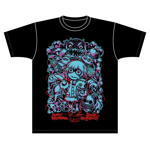NBSP-023_『PUPPET NIGHTMARE』コラボTシャツ JAIBON×RoughSketch