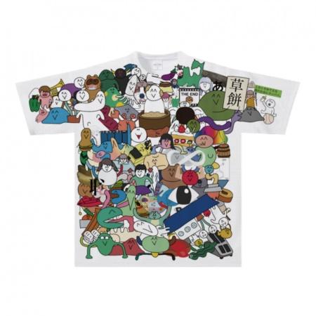 適度に騒がしいTシャツ