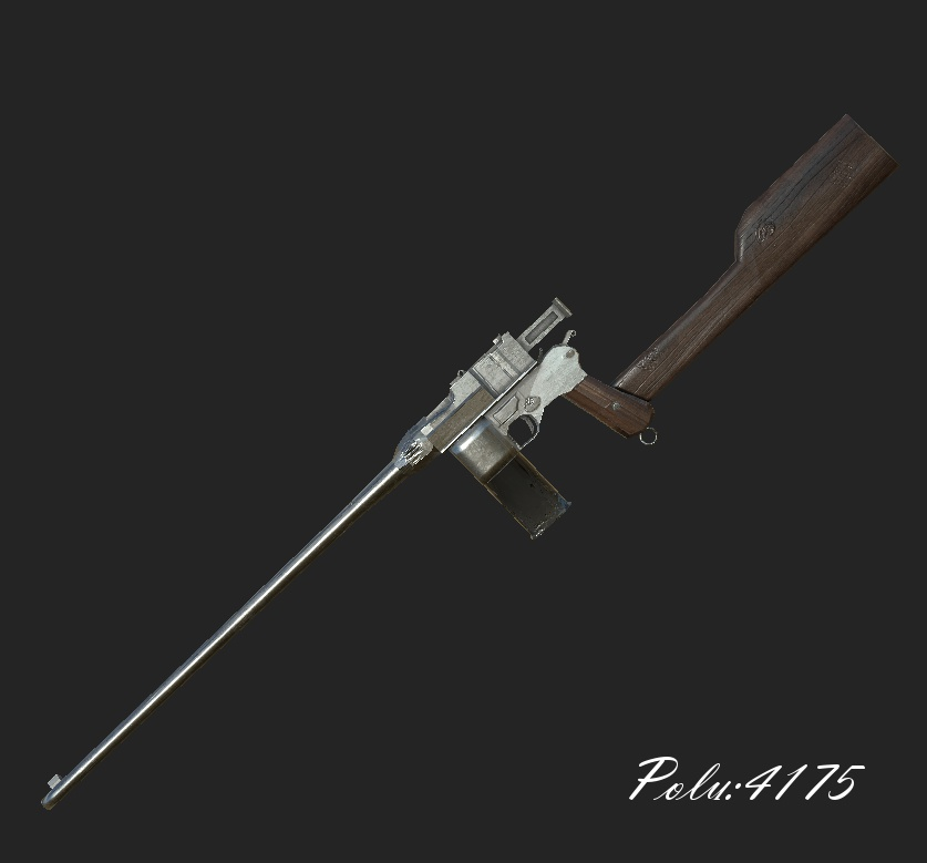 [感謝を込めて] モーゼルC96 (Mauser Schnellfeuer Long ver)