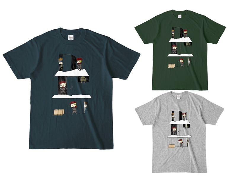 Tシャツ【MGS】