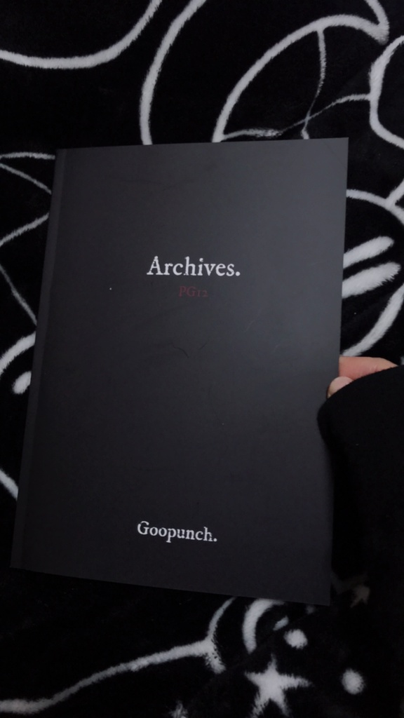 """Art Book """"Archives."""" by Goopunch."""