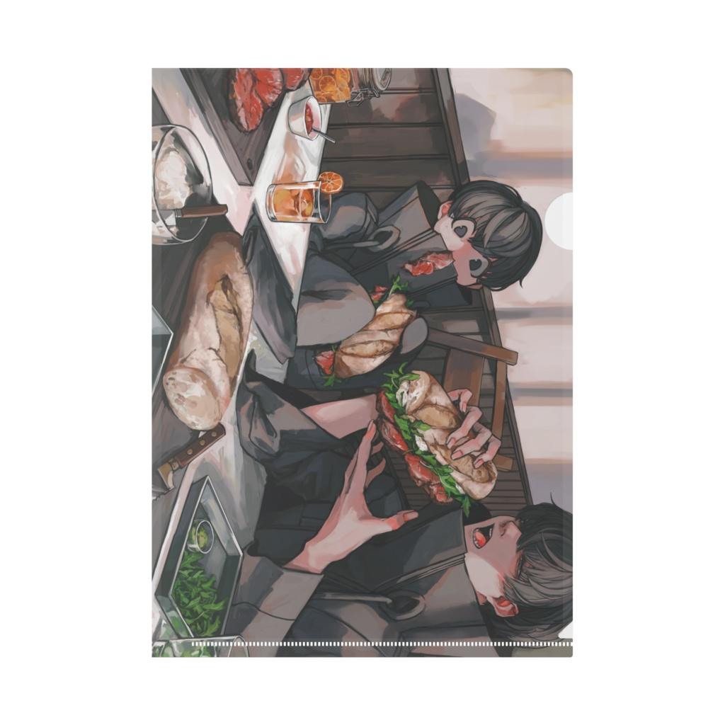クリアファイル【sandwich】