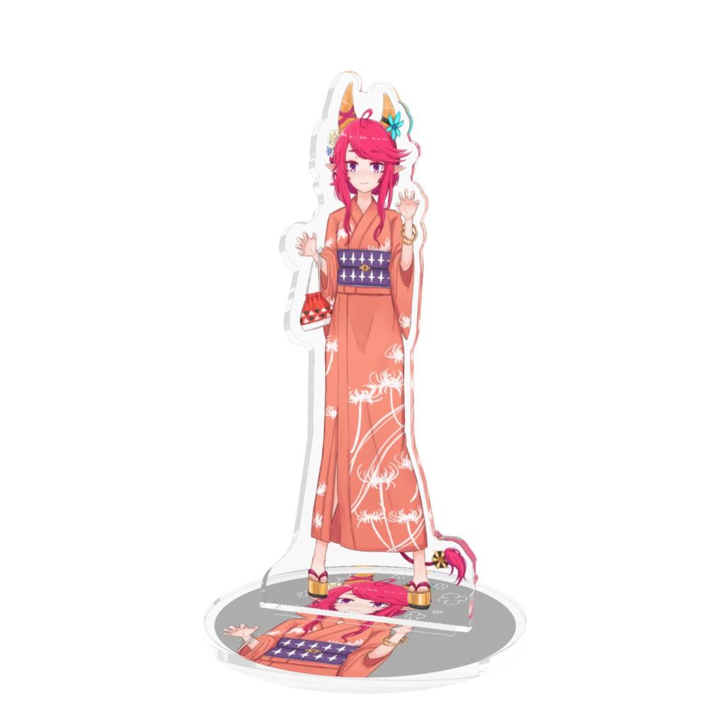 不動明星王マンジュ浴衣姿(2018ver.)のアクリル製人形