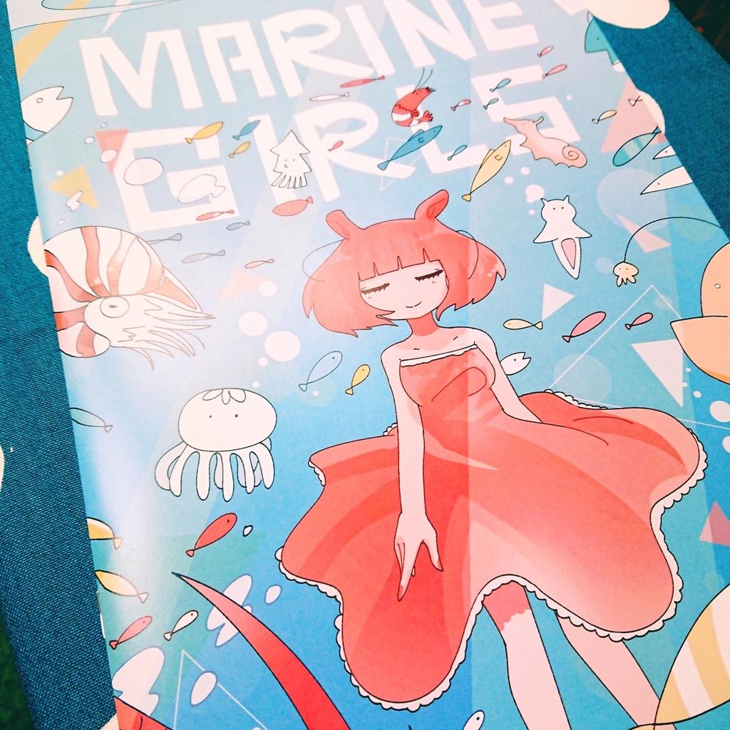 marinGirls イラスト冊子 10p