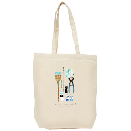 「モディリアーニにお願い」画材イラストトートバッグ