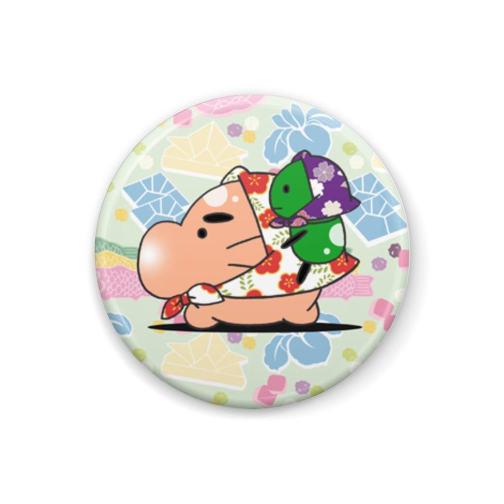 ◆お忍びどせいさんとぐみ族さん 缶バッチ