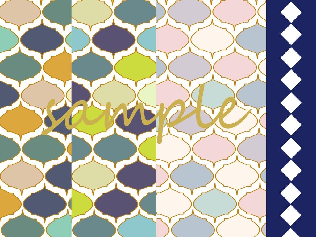 モロッコタイル風素材 Tudou Booth