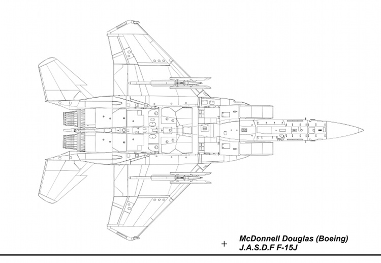 F-15J Blueprint Under