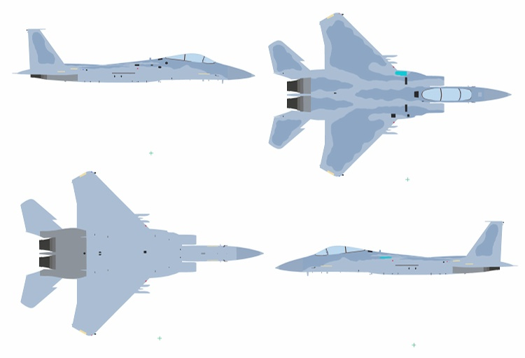 F-15J Colour Sample