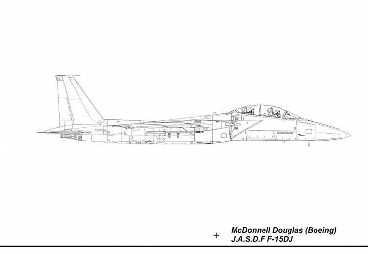 F-15DJ Blueprint Right
