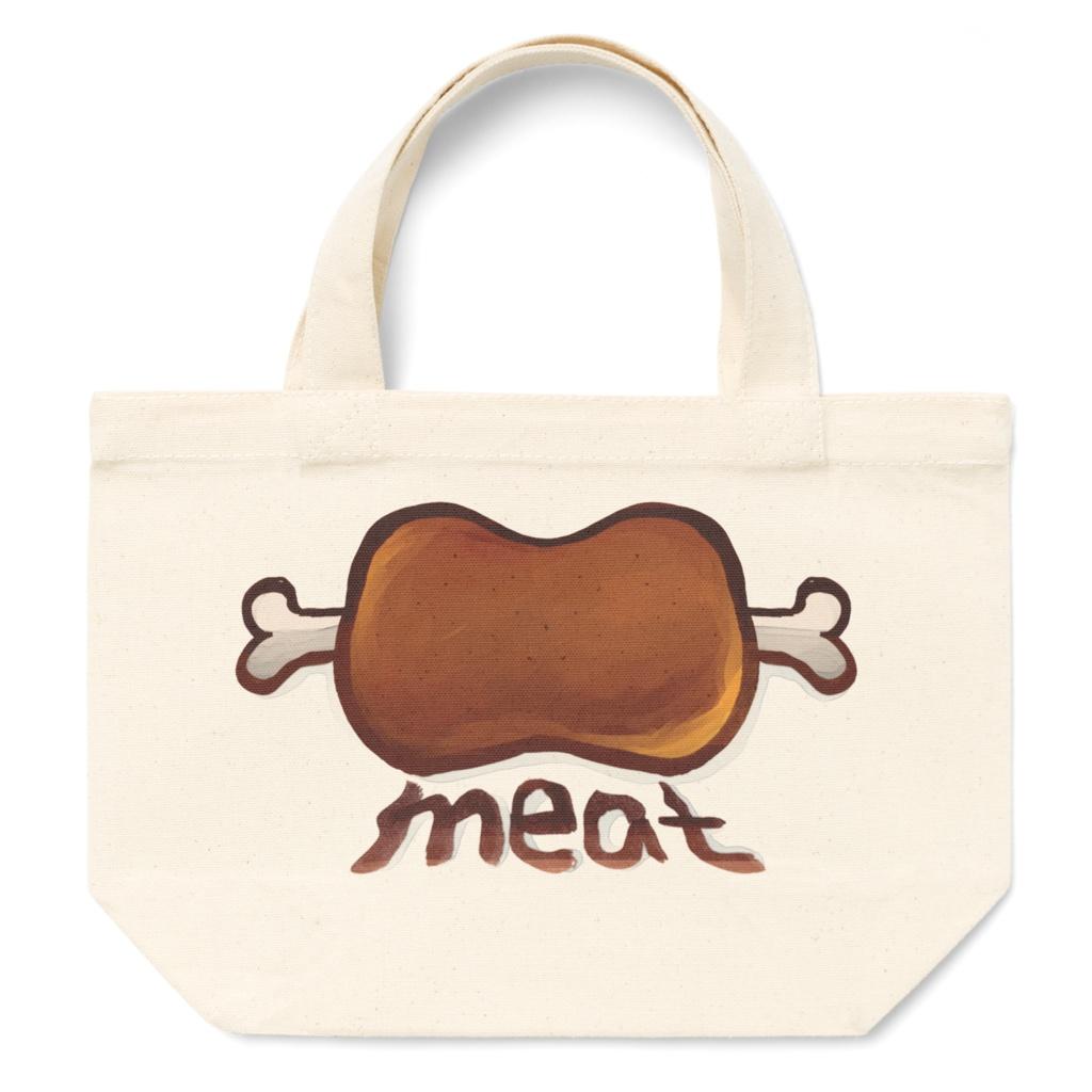 お肉トートバッグS