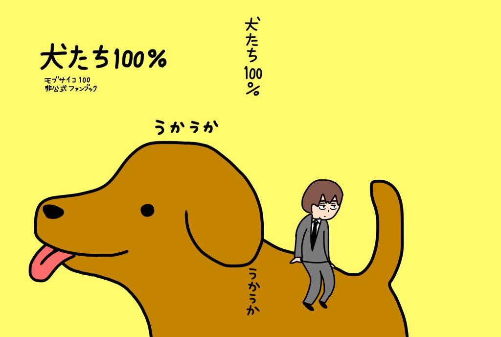 犬たち100%