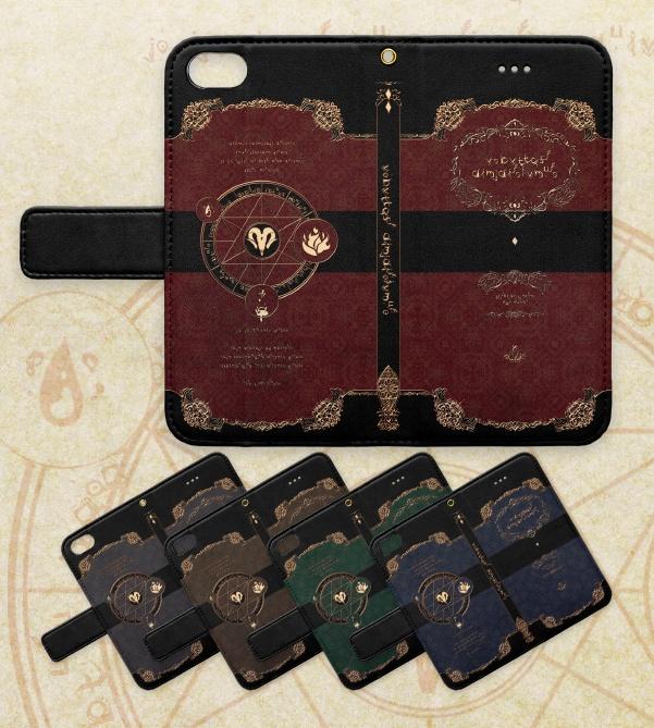 0b6cbc8c3a iphone/7/8 】黒魔術書風 手帳型ケース - noizem - BOOTH