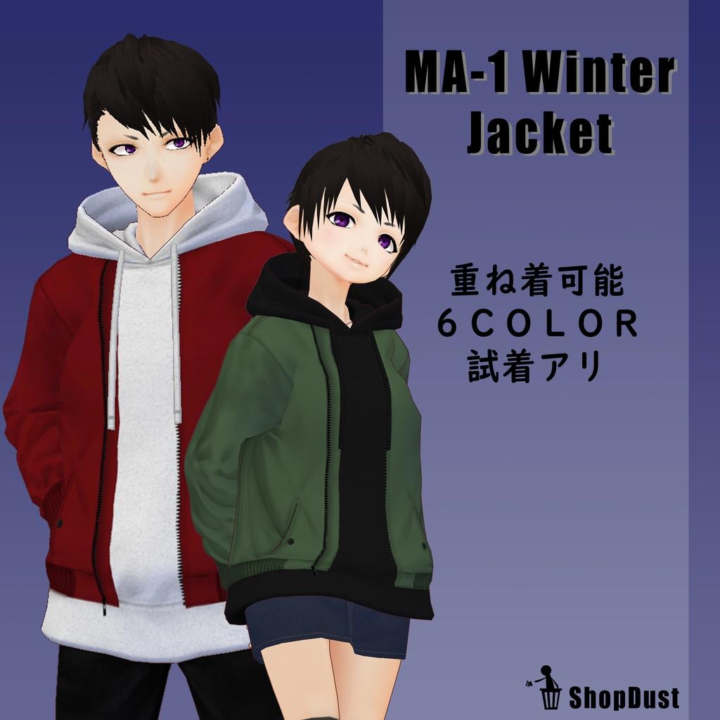 【男性VRoid向け】MA-1 ウィンタージャケット【試着有】