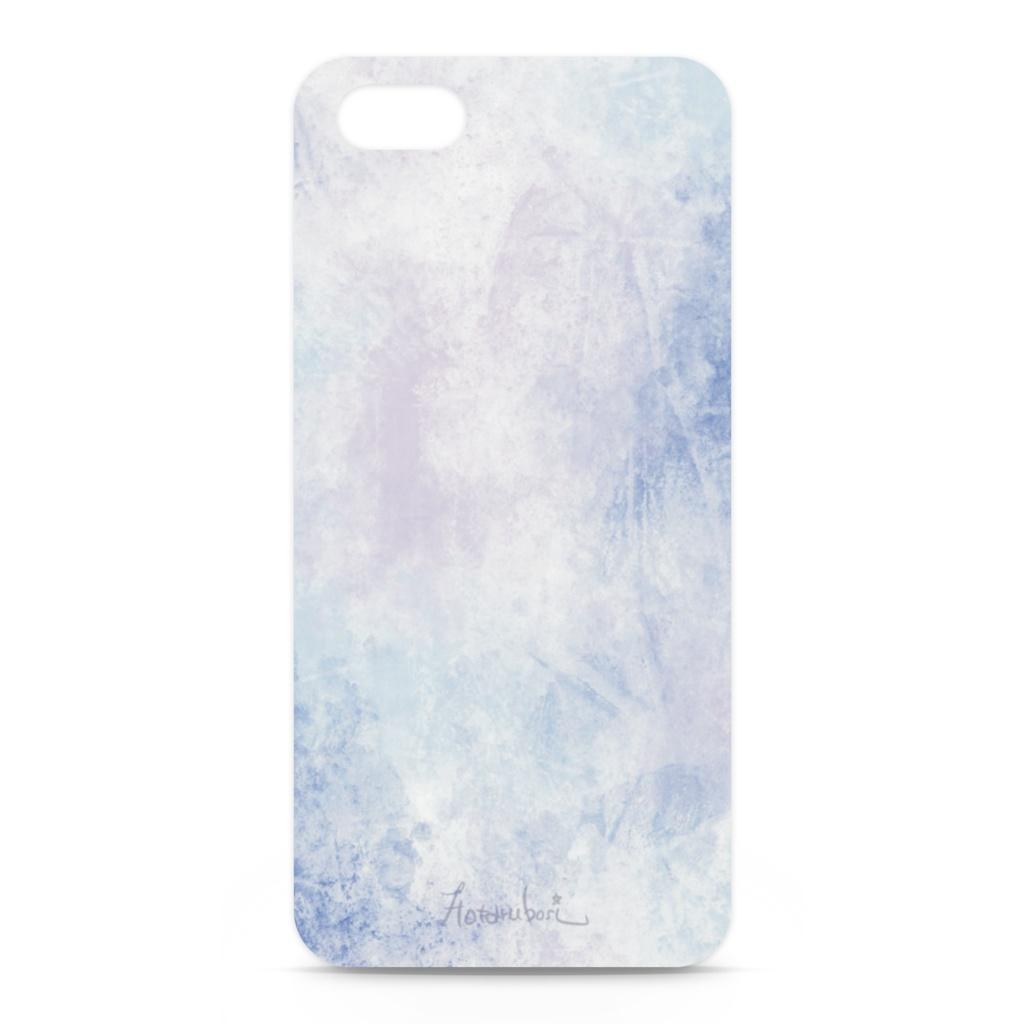 大人シンプルなブルー系iPhoneケース