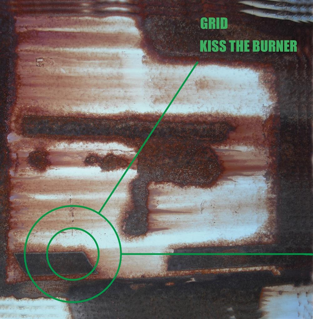 KISS THE BURNER 『GRID』 (MYWR-190)