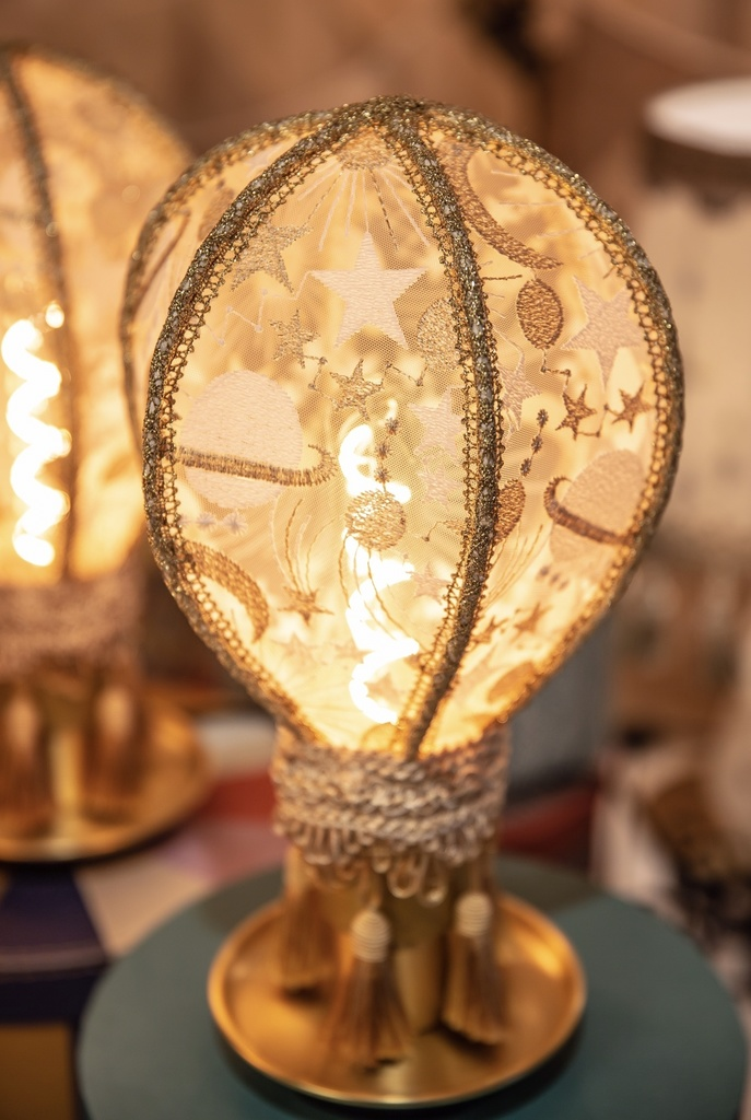 【再販2】白・気球のランプシェード