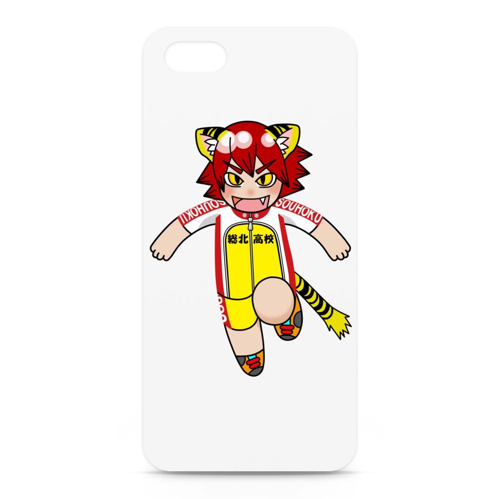 鳴子iPhoneケース(白)