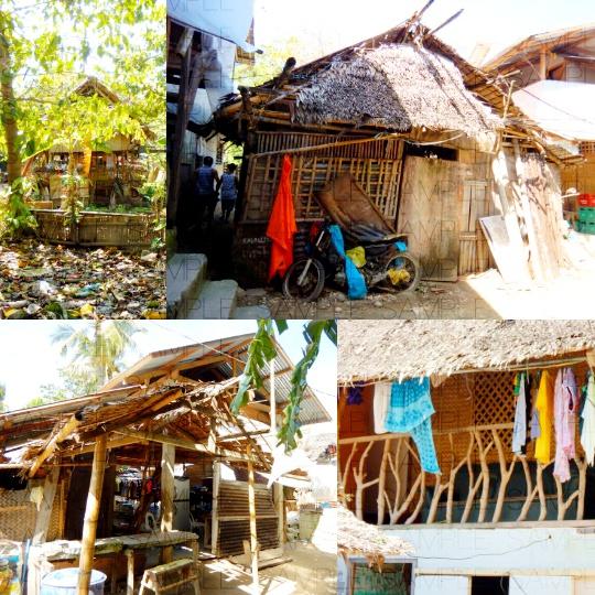 写真素材_アジアの貧村