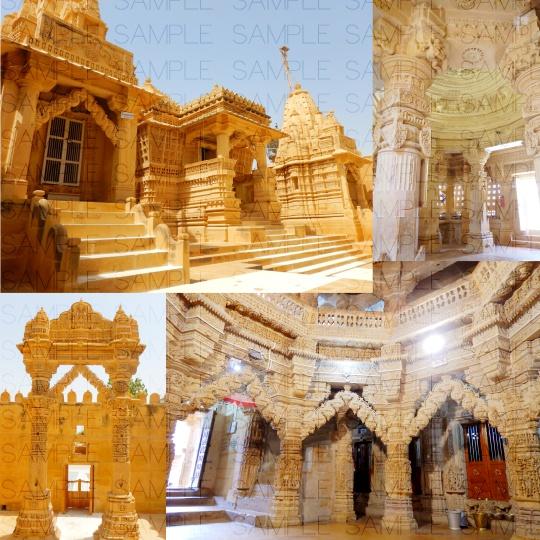 異教の寺院:写真素材集