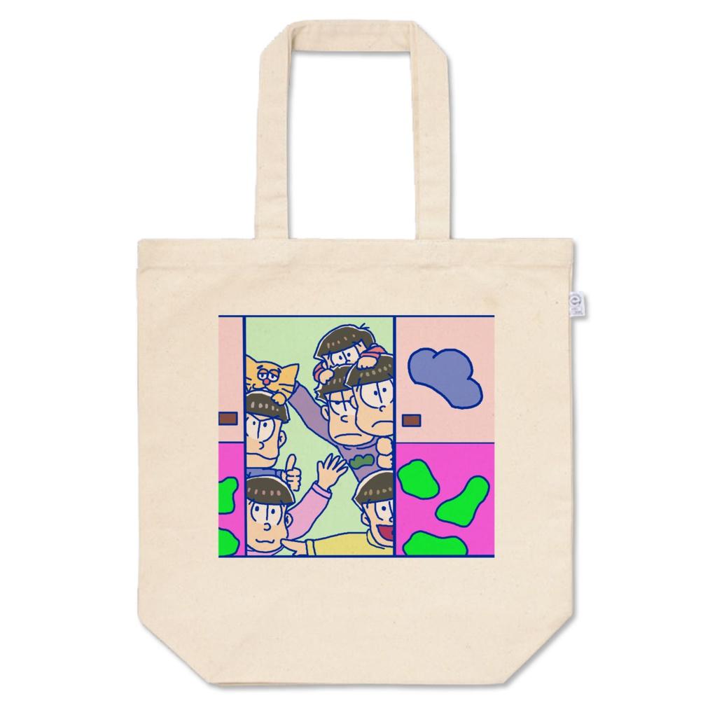 おそ松さん カラ松推しトートバッグ