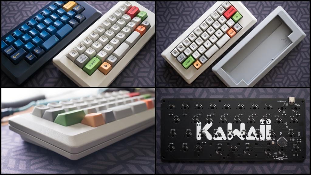 自作キーボード「M0ii0+KaWaii PCB キット」