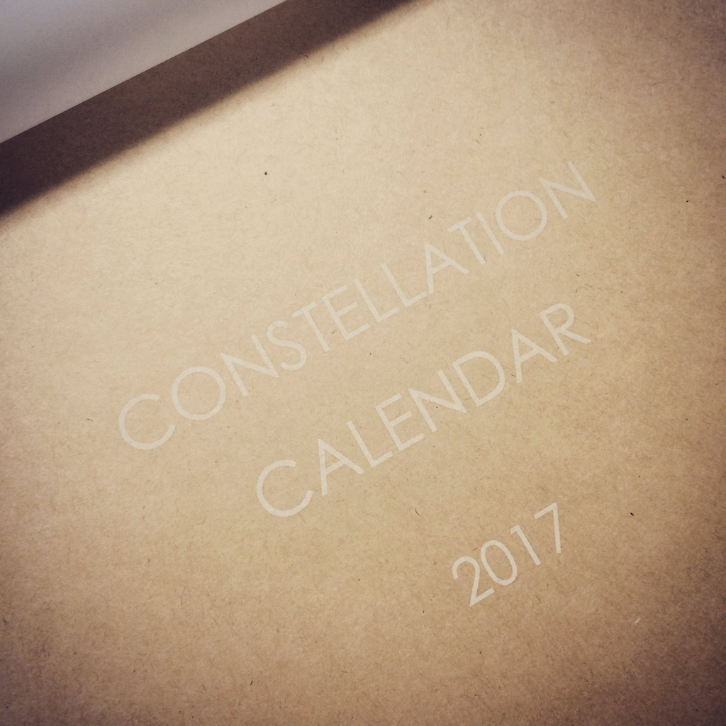 CONSTELLATION CALENDAR 2017