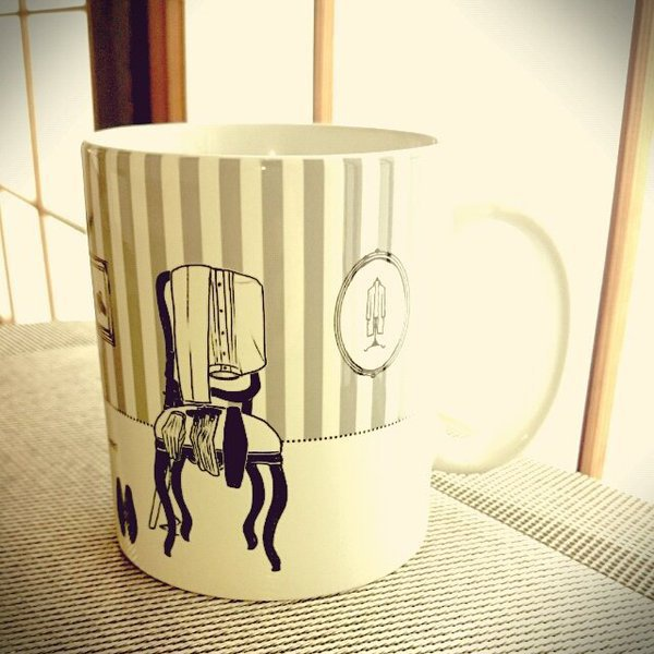 燭へしモチーフマグカップ