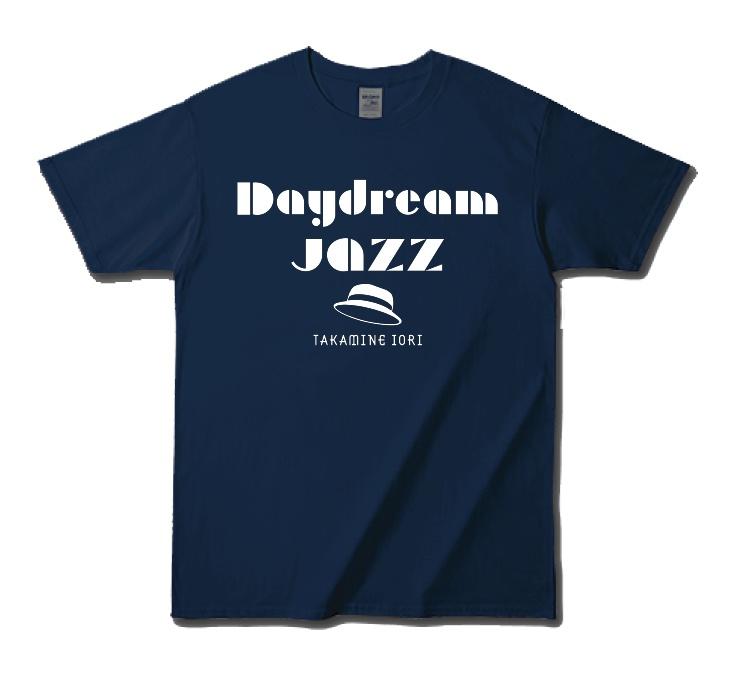 Daydream Jazz Tシャツ・ネイビー/高峰伊織