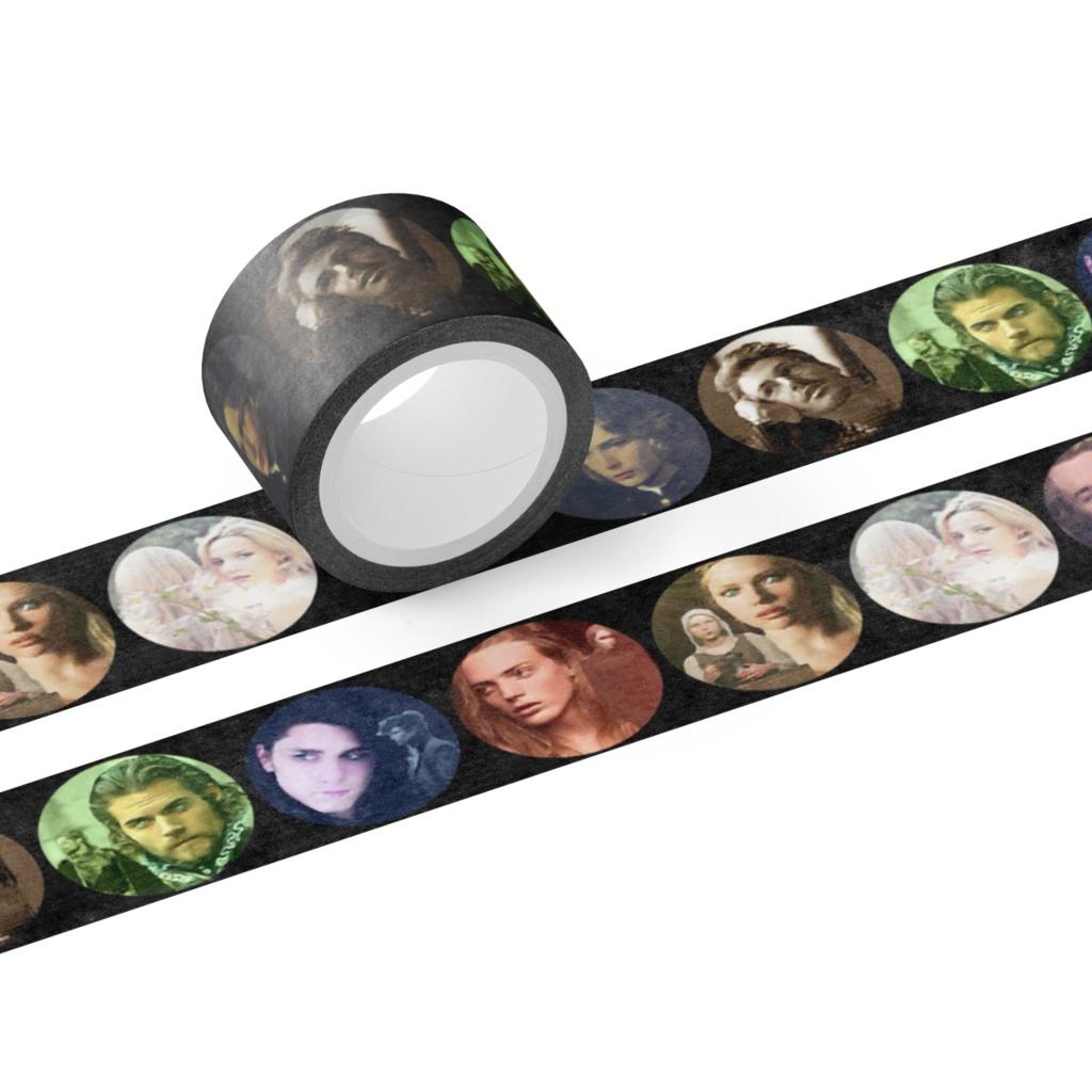 遥かなるマハリクマリック Mahali Kumarick Masking tape