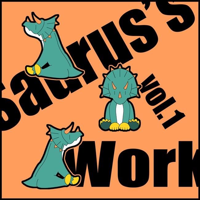オリジナル楽曲CD「Saurus's Work Vol.1」