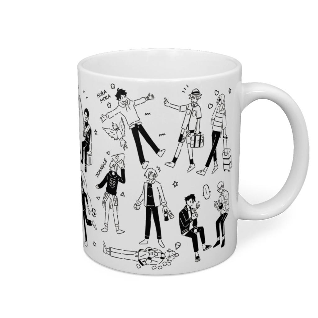 A3オールキャラマグカップ